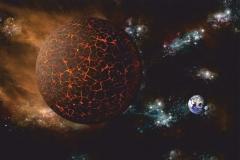"""Фотошпалери """"Планета X"""" (#1000013)"""
