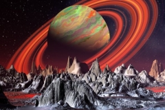 "Фотошпалери ""Космічна планета"" (#1000019)"