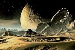 """Фотошпалери """"Космічний пейзаж"""" (#1000024)"""