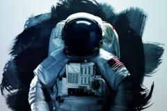 """Фотошпалери """"Космонавт"""" (#1000032)"""