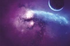 "Фотошпалери ""Фіолетова туманність"" (#100007)"