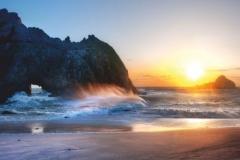 "Фотошпалери ""Захід сонця"" (#110013)"