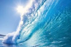 "Фотошпалери ""Морська хвиля"" (#110045)"