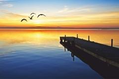 "Фотошпалери ""Захід сонця"" (#110075)"