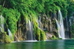 "Фотошпалери ""Плітвіцькі озера"" (#120014)"
