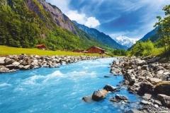"""Фотошпалери """"Гірська річка"""" (#120026)"""