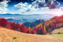 """Фотошпалери """"Осінні гори"""" (#120084)"""