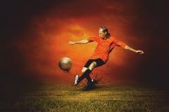 "Фотошпалери ""Футболіст"" (#130005)"