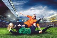 "Фотошпалери ""Футболіст"" (#130010)"