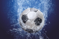 """Фотошпалери """"Футбольний м'яч"""" (#130011)"""