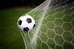 """Фотошпалери """"Футбольний м'яч"""" (#130020)"""