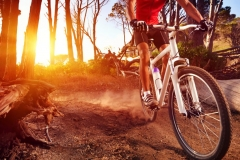 "Фотошпалери ""Велосипедист"" (#130023)"