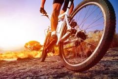 "Фотошпалери ""Велосипедист"" (#130024)"