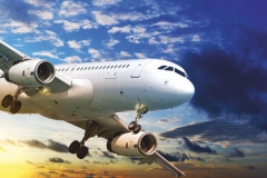 """Фотошпалери """"Літак в небі"""" (#140003)"""