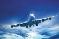 """Фотошпалери """"Літак в небі"""" (#140006)"""