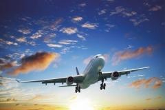 """Фотошпалери """"Літак в небі"""" (#140007)"""