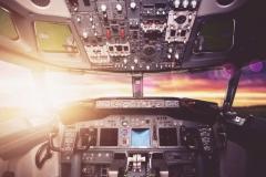 """Фотошпалери """"Кабіна літака"""" (#140023)"""