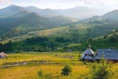 """Фотошпалери """"Гірський краєвид"""" (#150006)"""