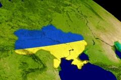 """Фотошпалери """"Україна на карті"""" (#150026)"""