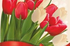 """Фотошпалери """"Букет тюльпанів"""" (#160076)"""