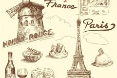 "Фотошпалери ""France - Paris"" (#10158)"
