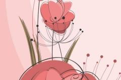 """Фотошпалери """"Квіти"""" (#10161)"""