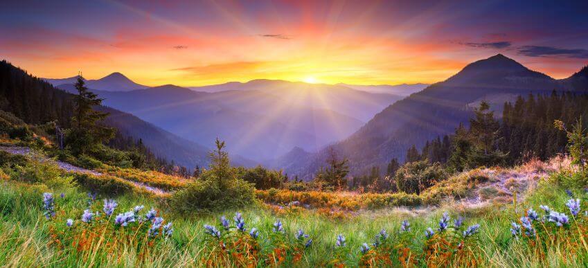 Гірський схід сонця, фотошпалери з гірським сходом сонця, Фотошпалери з гірським пейзажем, Фотошпалери з природою, латексний друк, Горный восход солнца, Latexdruk, екологічний друк, широкоформатний друк Україна, купити фотошпалери, фотообої, шпалери, обої, оформлення приміщень, друк на фотошпалерах, дизайнерські шпалери, картини з частин, картини на підрамнику, латексная печать, экологическая печать, широкоформатная печать Украина, латекс-друк, купить фотообои, фотообои, оформление помещений, печать на фотообоях, дизайнерские обои, картины из частей, картины на подрамнике