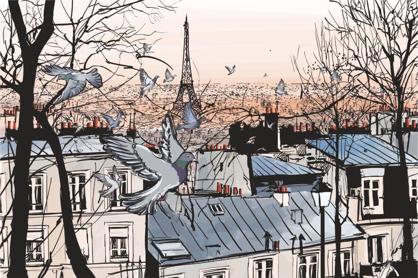 Фотошпалери з архітектурою Парижу, Парижський пейзаж, Париж, фотообои с Парижем, фотообои с архитектурой Парижа, Latexdruk, екологічний друк, широкоформатний друк Україна, широкоформатний друк Чернівці, замовити фотошпалери, фотообої, шпалери, обої, оформлення приміщень, друк на фотошпалерах, дизайнерські шпалери, картини, картини з частин, экологическая печать, широкоформатная печать Черновцы, латекс-друк, фотообои, оформление помещений, оформление интерьера, печать на фотообоях, картина на ткани, модульные картины