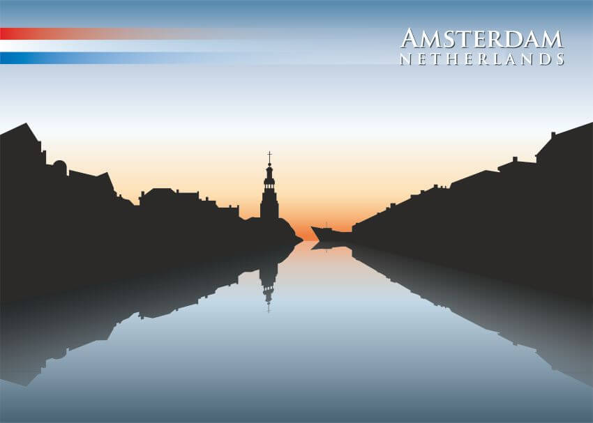 """Фотообои """"Amsterdam"""" (#30177)"""