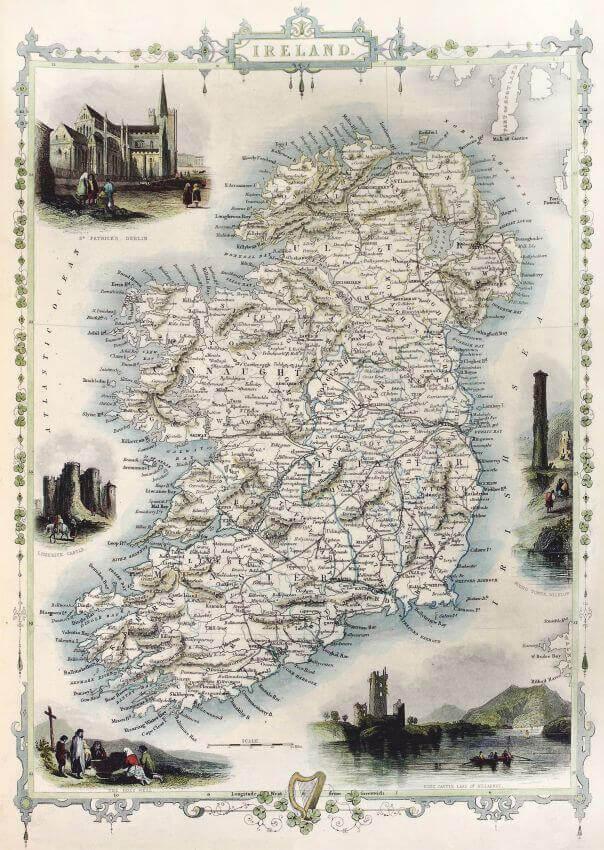 Стара карта Ірландії, Фотошпалери з старою картою ірландії, Latexdruk, екологічно чистий друк, широкоформатний друк Чернівці, латекс-друк, замовити фотошпалери, фотошпалери, обої, дизайн приміщень, оформлення інтер'єру, друк на шпалерах, друк на тканині, друк на холсті, картина у кімнату, модульні картини, латексная печать, экологически чистая печать, широкоформатная печать Черновцы, заказать фотообои, обои, дизайн помещений, оформление интерьера, печать на обоях, печать на ткани, картина на ткани, печать на холсте, картина в комнату, модульные картины