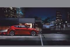 """Фотошпалери """"Hyundai veloster red"""" (#20037)"""