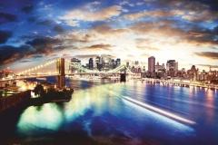 """Фотошпалери """"США, Бруклінський міст"""" (#30009)"""