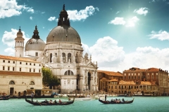 """Фотошпалери """"Венеція, Санта-Марія-делла-Салюте"""" (#30031)"""