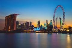 """Фотошпалери """"Готель Marina Bay Sands"""" (#30039)"""