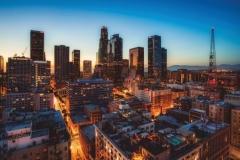 """Фотошпалери """"Нічний Лос-Анджелес"""" (#30050)"""