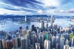 """Фотошпалери """"Гонконг, пік Вікторія"""" (#30062)"""