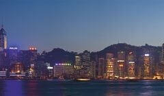 """Фотошпалери """"Панорама Гонконга"""" (#30077)"""