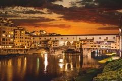 """Фотошпалери """"Флоренція, Понте Веккьо"""" (#30095)"""