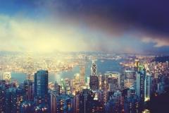 "Фотошпалери ""Гонконг"" (#30099)"