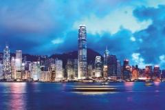 """Фотошпалери """"Гонконгський порт"""" (#30100)"""