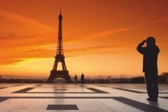 "Фотошпалери ""Париж, Ейфелева башня""(#30105)"