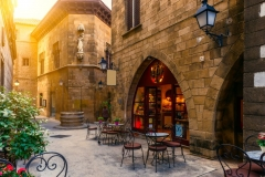 """Фотошпалери """"Старе місто - Барселона"""" (#30116)"""