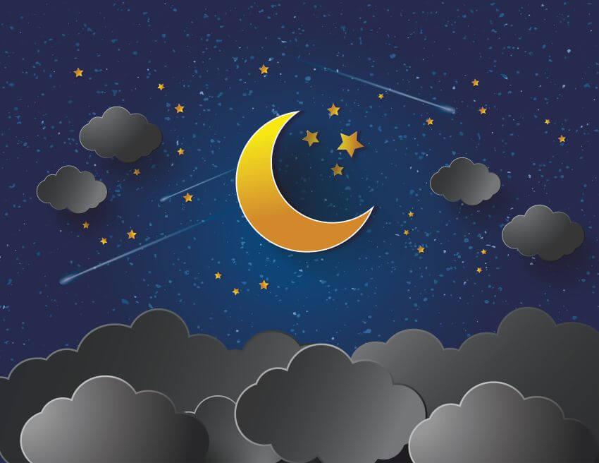 Звездное небо картинки нарисованные