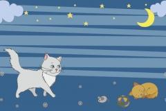 """Фотошпалери """"Кіт"""" (#40001)"""