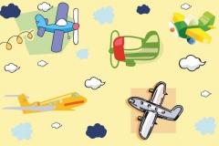 """Фотошпалери """"Літачки"""" (#40002)"""