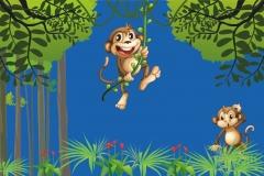 """Фотошпалери """"Мавпочки"""" (#40004)"""