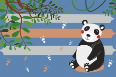 """Фотошпалери """"Панда"""" (#40005)"""