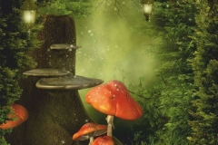 """Фотошпалери """"Чарівний ліс"""" (#40053)"""