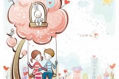 "Фотошпалери ""Love is..."" (#40056)"
