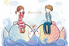 "Фотошпалери ""Love is..."" (#40060)"